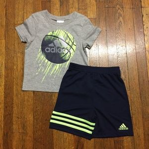 Boys 2-Pc. T-Shirt & Shorts Set